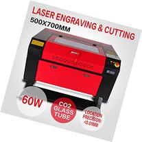 Iglobalbuy 60W CO2 Laser Engraving Machine Laser Cutting