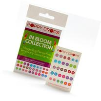 In Bloom Collection - Veggie-Based Temporary Tattoo Earrings