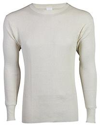 Indera - Mens King Size Long Sleeve Ultra Heavy Weight