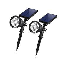 InnoGear Upgraded Solar Lights 2-in-1 Waterproof Outdoor