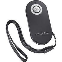 Insignia™ - Wireless Remote Shutter Control For Canon