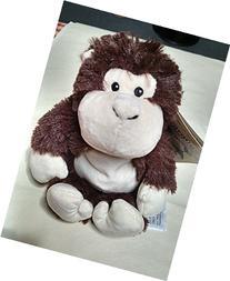 Intelex Cozy Plush Juinor, Heatable Plush Monkey, Lavender