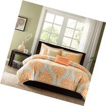 Intelligent Design Senna Comforter Set, Full/ Queen, Orange