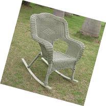 Wicker Resin/Steel Patio Rocking Chair