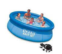 "Intex 10' x 30"" Easy Set Inflatable Above Ground Swimming"