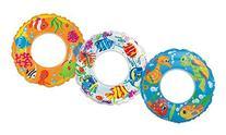 "Intex 59242EP 24"" Transparent Swim Ring Assorted Colors"