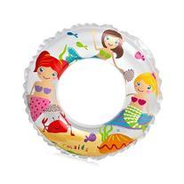 Intex Recreation Little Mermaid Girls Ocean Reef Print Swim