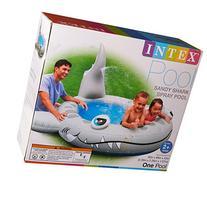 """Intex Sandy Shark Spray Pool, 90"""" X 89"""" X 42"""", for Ages 2"""