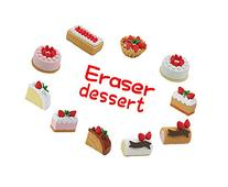Iwako Japanese Eraser Dessert Assortment Value Set of 10