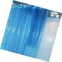 JBtek 3D Effect Bathroom Curtain 3D Water Cube Mold & Mildew