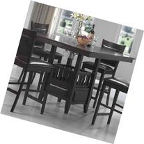 Jaden Square Counter Height Table with Center Storage