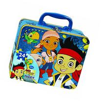 Jake and the Neverland Pirates Puzzle Tin / Lunch tin