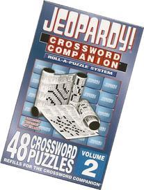 Jeopardy! Crossword Companion REFILL KIT - Volume 2 - 48