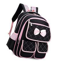 JiaYou174; Kid Girl Child Oxford Princess Bag Backpack