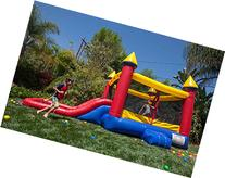 JumpOrange Duralite Kiddo Jump N' Slide Water Combo