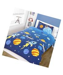 Rocket Single Duvet Cover And Pillowcase Set