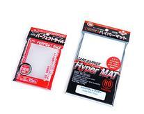 KMC Hyper Mat Sleeve Clear  + 100 Pochettes Card Barrier
