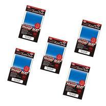 KMC Hyper Matte Sleeves Blue×5 Sets   Made in Japan