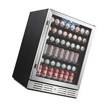 "Kalamera 24"" Beverage Refrigerator 175 Can Built-in or"