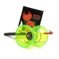 KickFire Diabolos Green Nova Chinese YoYo Diabolo Set with
