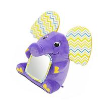 Kiddopotamus Peek-A-Boolaphant Plush Floor Mirror Toy