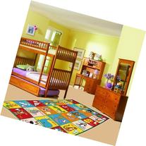 Kids Rug ABC Animals Area Rug 3' x 5' Children Area Rug for