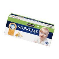 Kirkland Diapers - Size 4 - 180 ct
