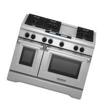 Kitchenaid KDRU783VSS Commercial-Style Dual Fuel Range