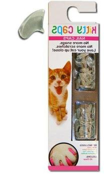 Kitty Caps, Small Clear: Cat  Soft Feline Nail Caps for