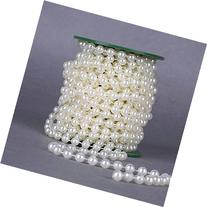 Krismile® 33ft 8mm Pearl Strands Garland Spool Beads