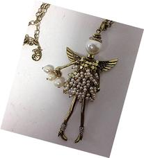 Kurt Adler Precious Findings June Birthstone  Angel Pedant w