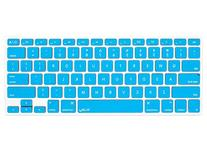 Kuzy - AQUA BLUE Keyboard Cover Silicone Skin for MacBook