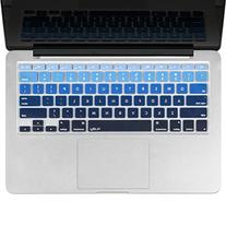 Kuzy BLUE Ombre Colors Keyboard Cover Silicone Skin for