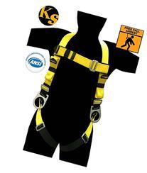 KwikSafety  THUNDER Safety Harness | ANSI OSHA Full Body