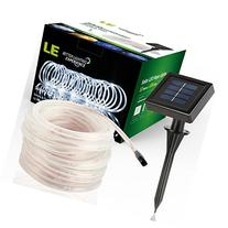 LE 33ft 100 LED Solar Power Rope Lights, Waterproof Outdoor