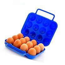 ® Outdoor Picnic Garden Portable Folding Plastic Egg Carton