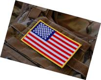 Large 3x5 Inch Color Tactical Us USA Flag  Patch
