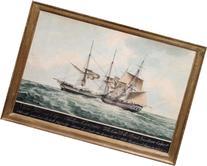 Le Brick Gustave Cesar. 1820