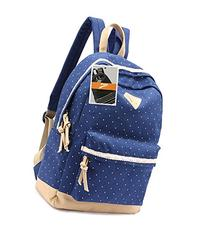 Leaper Casual Style Lightweight Canvas Laptop Backpack Cute