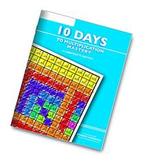 Learning Wrap-ups 10 Days to Multiplication Mastery Student