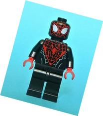 Lego Miles Morales Spider-man Minifigure 76036 Loose New