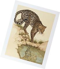Leopard at Waterhole