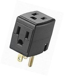 Leviton 000-00692-00E 12 Pack Cube Tap 3 Outlet Cube Adapter