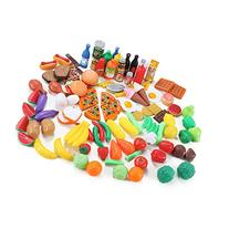 Liberty Imports 120 Piece Deluxe Pretend Play Food