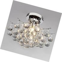 LightInTheBox 00218363 Chrome Finish Crystal Chandelier with