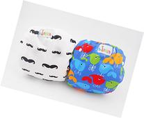 LilBit 2 pcs Pack Boys' Adjustable Baby Swim Pants SD01