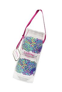 Lilly Pulitzer Acrylic Stemless Wine Glasses, Lilly's Lagoon