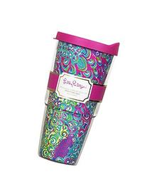 Lilly Pulitzer Insulated Tumbler with Lid 24 oz.  by Lilly