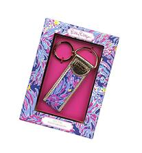 Lilly Pulitzer Key Fob, Shrimply Chic