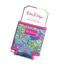 Lilly Pulitzer Lilly's Lagoon Drink Hugger, Multicolor